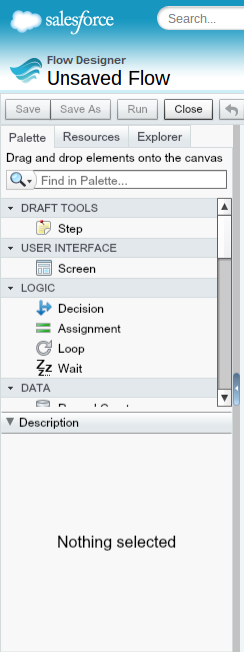 New-Salesforce-Flow-Blank-Page-Palette
