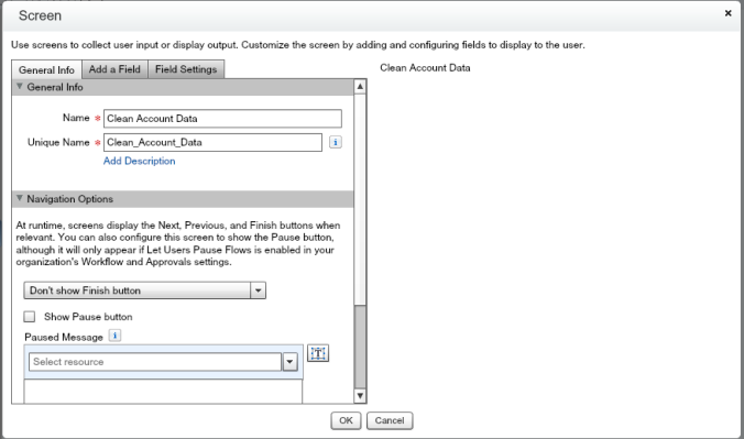 Quote Entry Flow Clean Account Data Screen Initial View