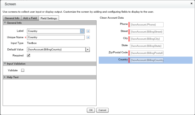 Quote Entry Flow Clean Account Screen With Inputs And Default Values