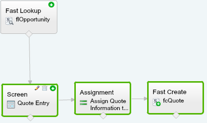 Quote Entry Flow With Space For Account Lookup