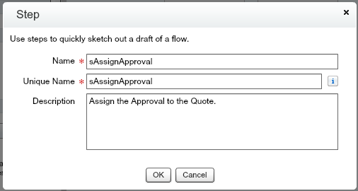 Approval Process Flow Step sAssignApproval