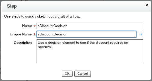 Approval Process Flow Step sDecisionDiscount