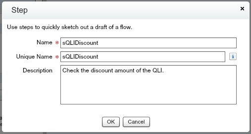 Approval Process Flow Step sQLIDiscount