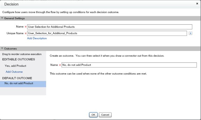 Quote Entry Flow Decision To Add Products Default Outcome