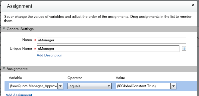 Quote Line Item Approval Manager