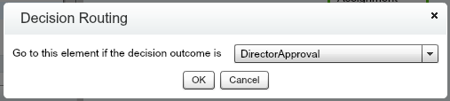 Quote Line Item Director Decision Routing Selection