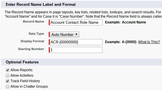Account Contact Role Setup Salesforce