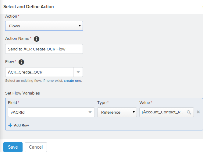 Send To Flow Process Builder Salesforce